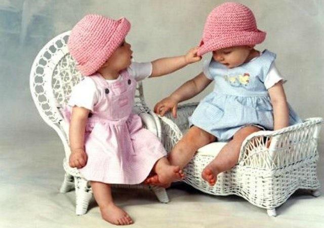 Родилась сразу двойня, по молитвам к блаженной Ксении!