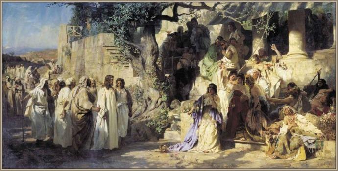 Иуда или мироносица?   Заметки верующего человека