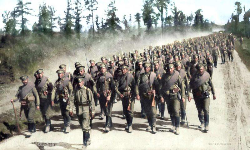 1 августа в истории. Первая мировая война