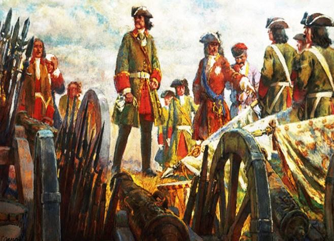 21 июля в истории.Прутский поход Петра I