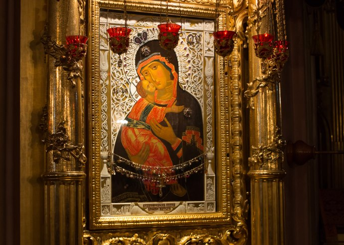 Чудо от Владимирской иконы Божией Матери