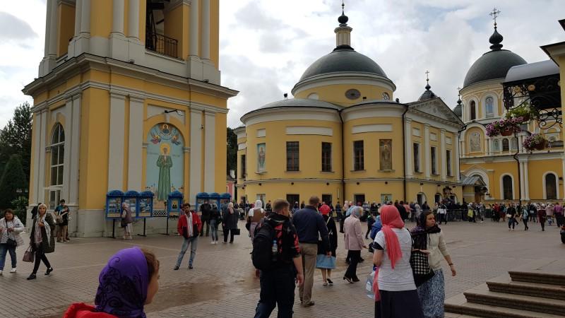 В Покровский монастырь накануне Преображения