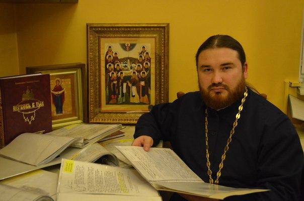 Священник Петр Гурьянов