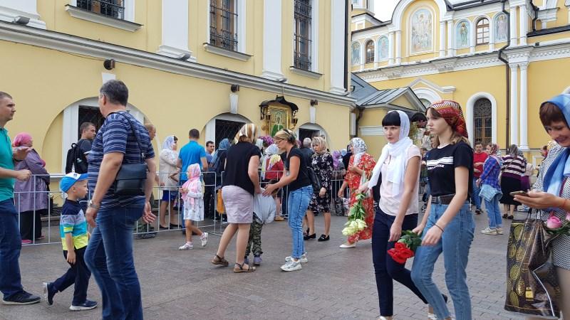 В Покровский монастырь 1 сентября