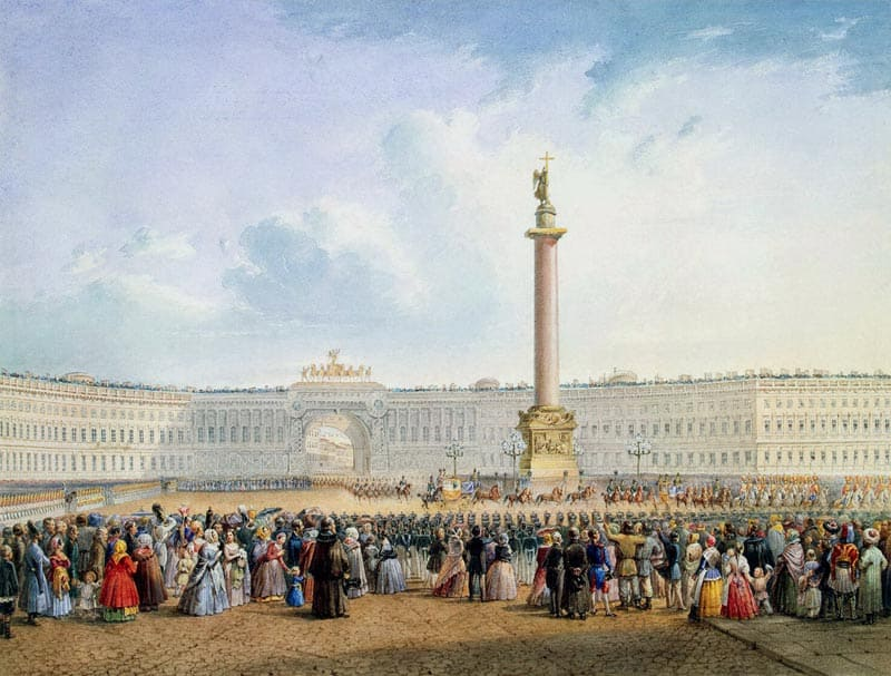 С-Петербург Александрийский столп