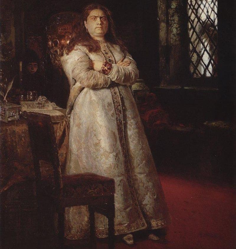 Царевна Софья в монастыре