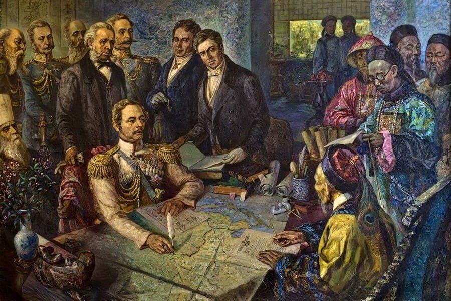 6 сентября в истории.Договор с Китаем