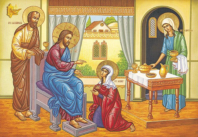 Как сочетать в себе Марфу и Марию?