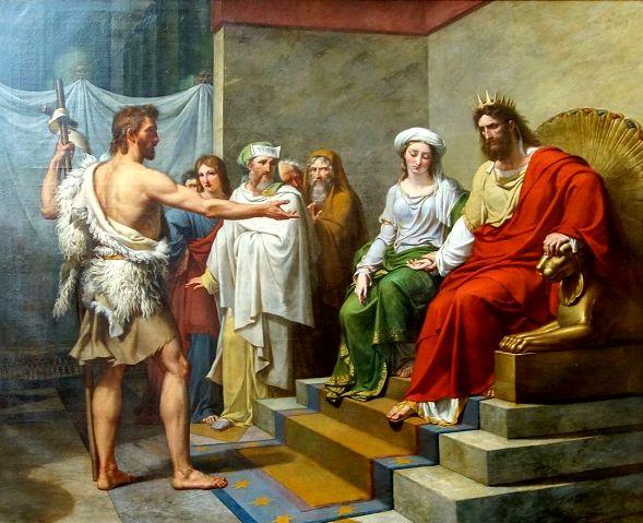 Иоанн Креститель обличает Ирода