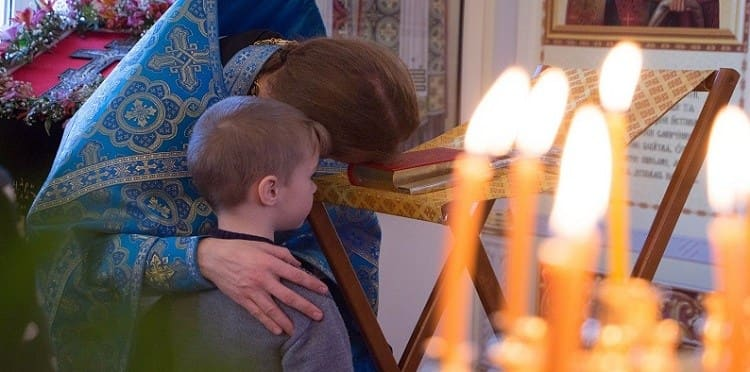 Ребенок в храме. Детская исповедь