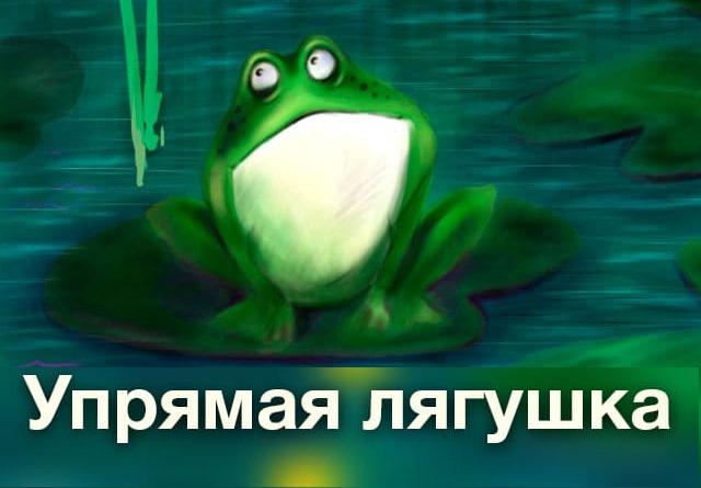Упрямая лягушка | Рассказ-притча