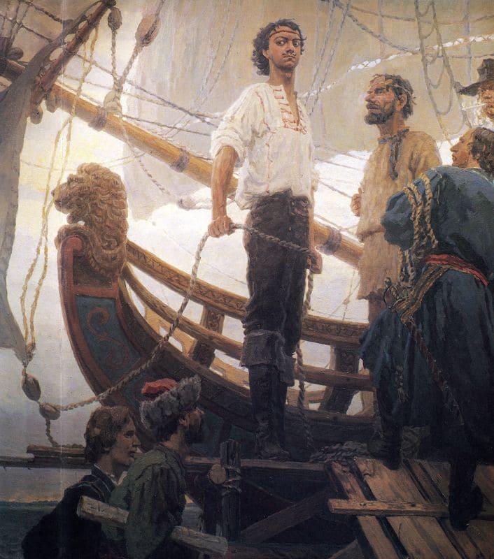 Петр Первый. Стройка кораблей