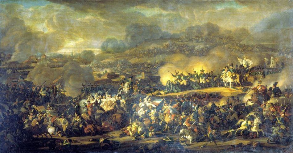 Битва народов под Лейпцигом. Сражение