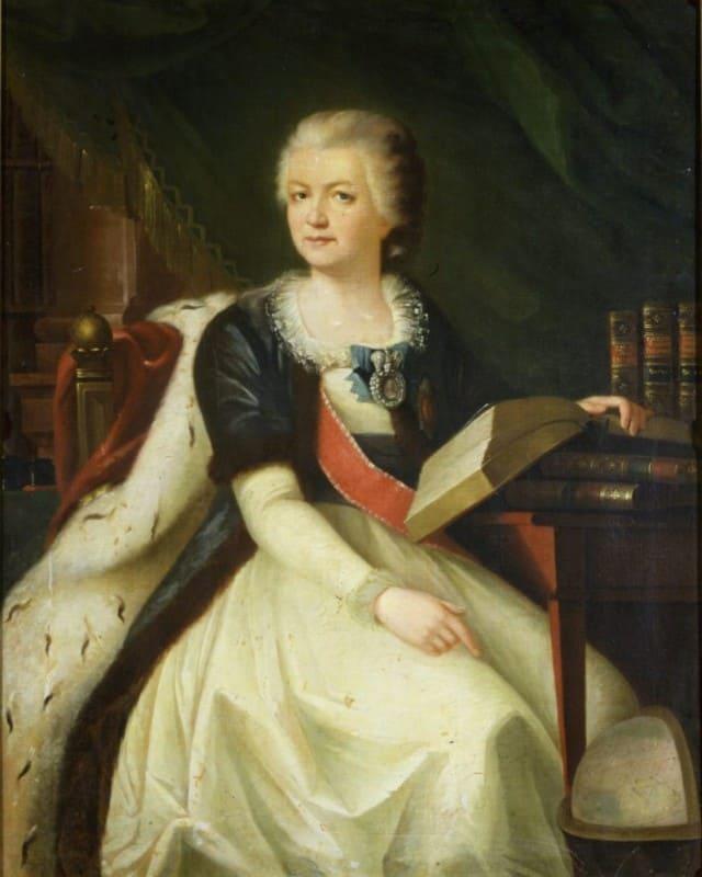 Княгиня Екатерина Романовна-Дашкова