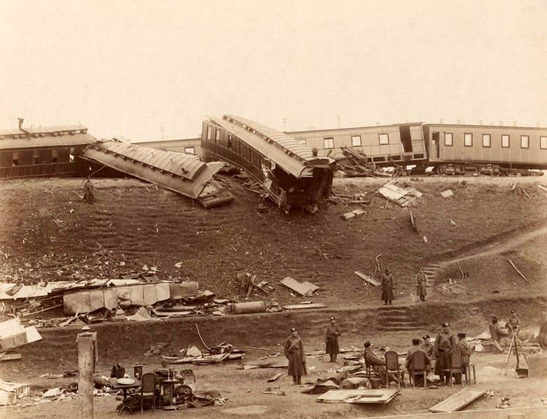 29 октября в истории. Крушение поезда