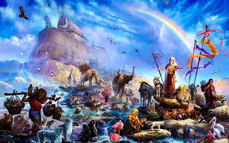 Ной. Ковчег. После потопа