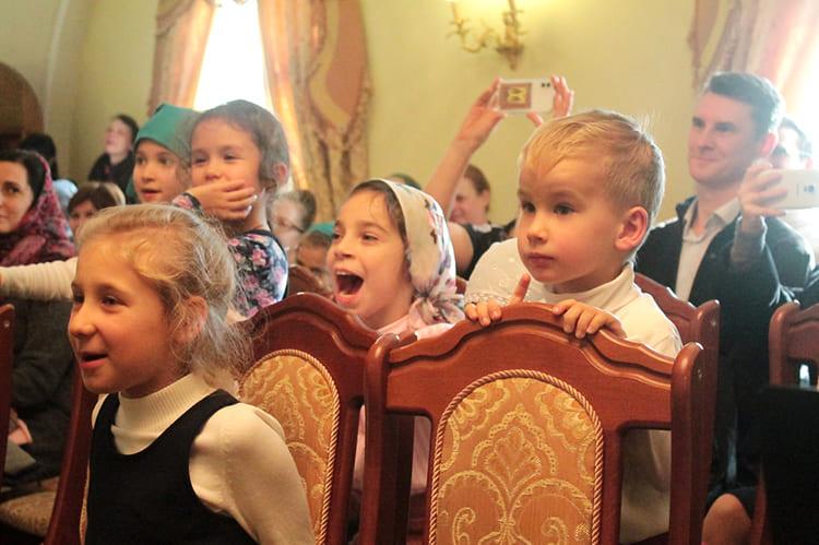 Концерт. Дети