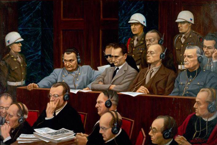Нюрнбергский трибунал. Геринг
