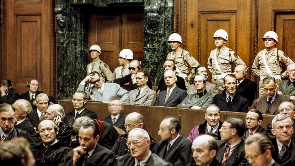 Нюрнбергский трибунал. Заседание