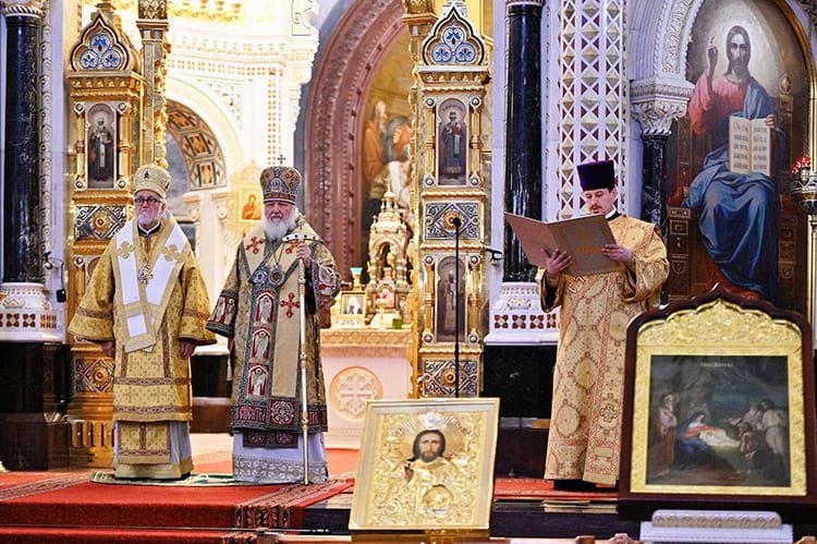 Патриарх Кирилл. Амвон
