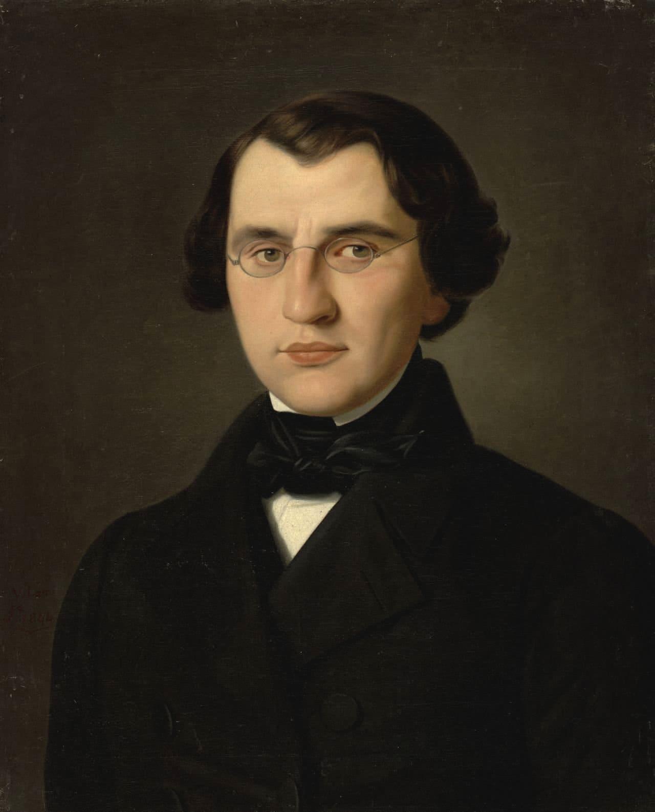 Писатель Иван Тургенев в молодости