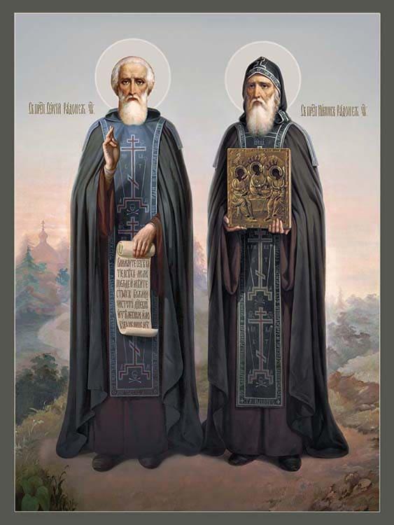 Преподобный Сергий и Никон Радонежские