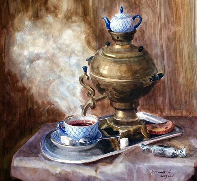Самовар. Чай