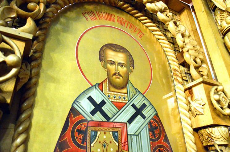 Святитель Иоанн Златоуст. Икона