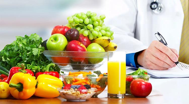 Здоровые продукты. Предписание врача