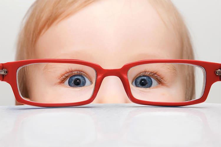 Зрение ребенка. Очки