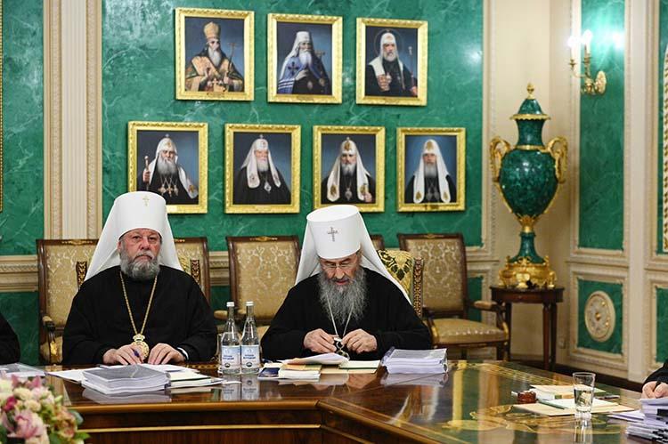 Митрополит Онуфрий и митрополит Владимир