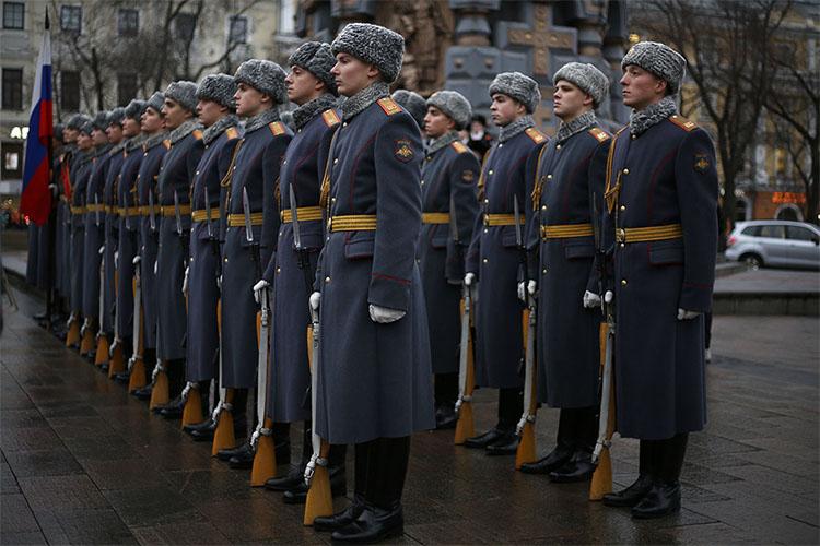 Солдаты. Караул
