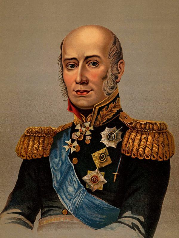 Фельдмаршал Барклай-де-Толли