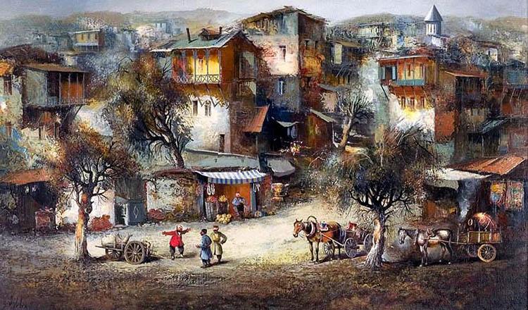 Город старинный