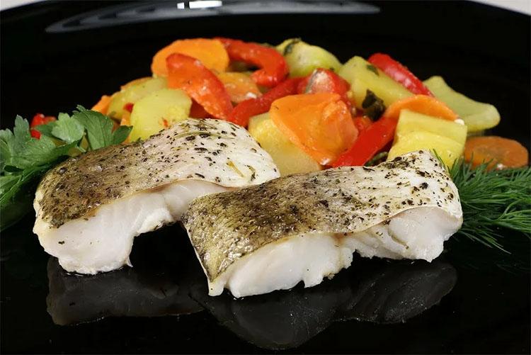 Хек запеченый. Постное блюдо из рыбы