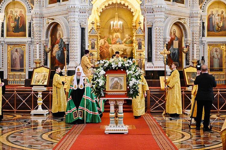 Храм Христа Спасителя. Патриарх