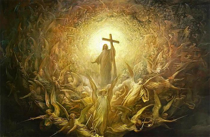 Иисус Христос. Ангелы