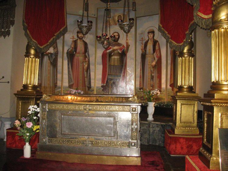 Мощи святого князя Александра Невского