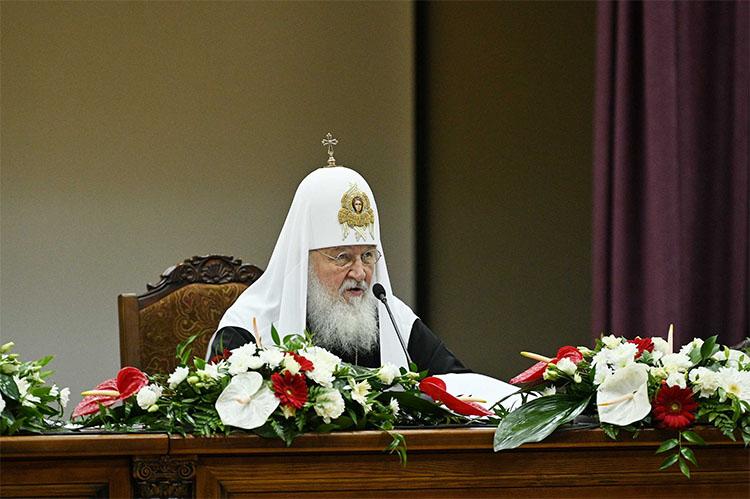 Патриарх Кирилл. Выступление