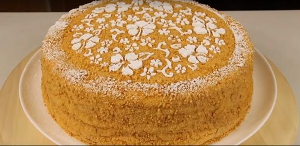 Постный торт, рецепты