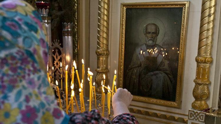 Пред иконой святителя Николая