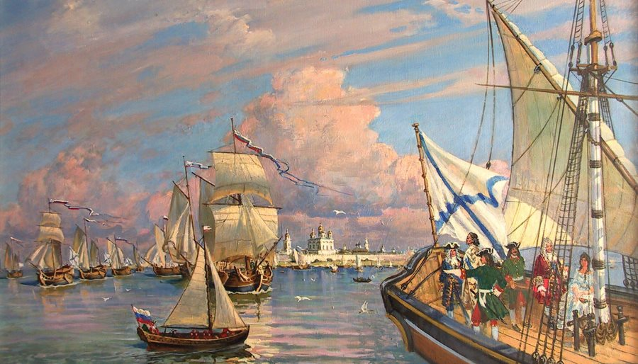 Русский флот под Андрееским флагом. 2