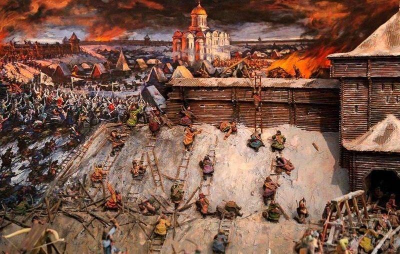 Штурм Киева татаро-монголами