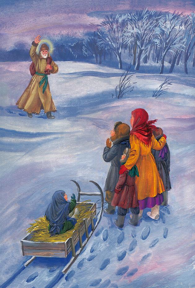 Святитель Николай. Зима. Дети