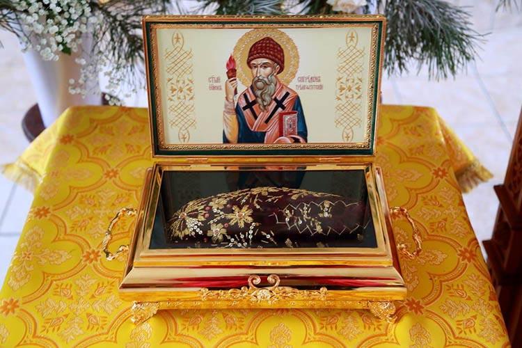 Тапочка святителя Спиридона Тримифунтского