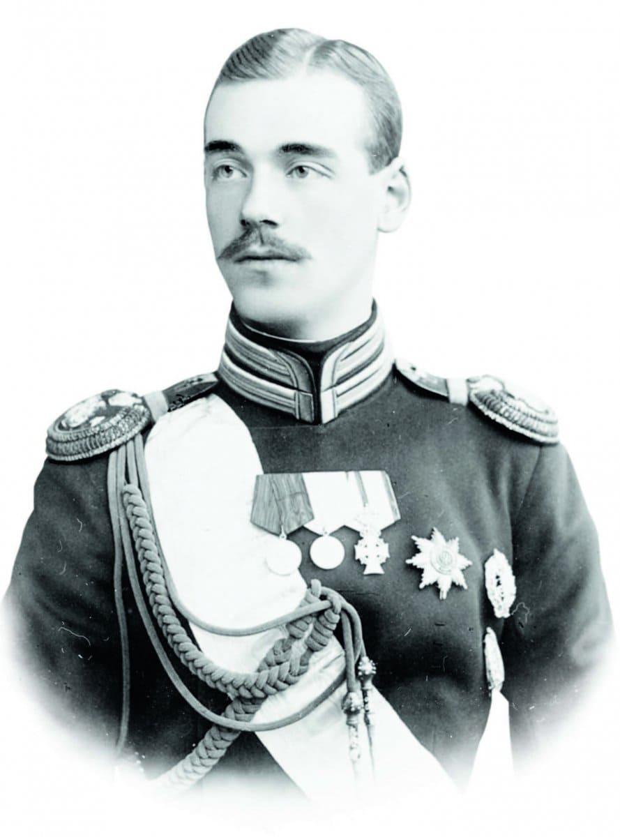 Великий князь Михаил Александрович Романов в молодости
