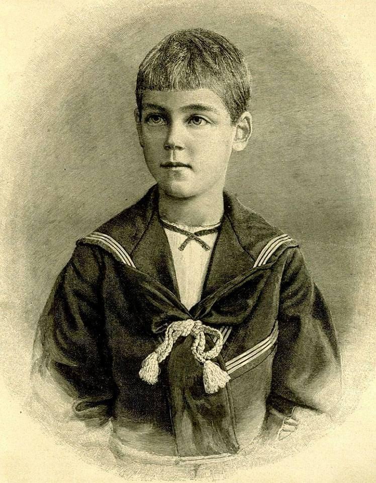 Великий князь Михаил Александрович Романов в юности
