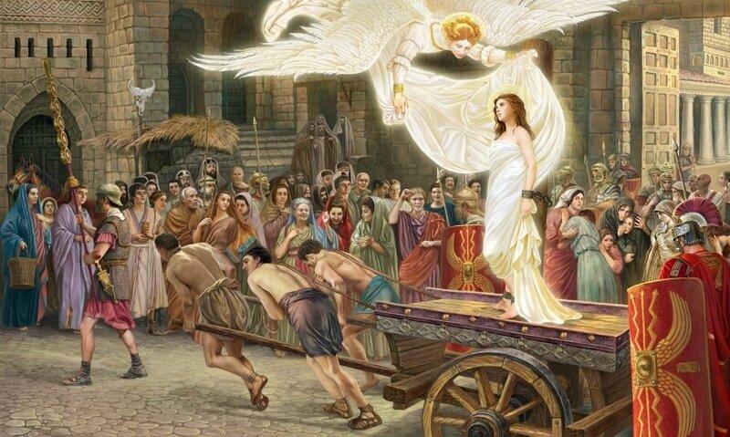 Великомученица Варвара. Картина