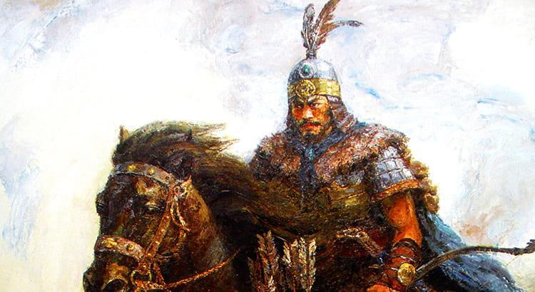 Всадник. Монгол. Татар