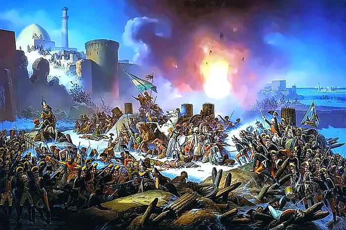 Взятие крепости Очаков. Приступ